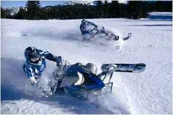 Central Oregon Snowmobile Rentals adventure