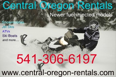 Snowmobile Rentals - Central Oregon Rentals